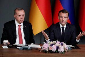 ماکرون و اردوغان