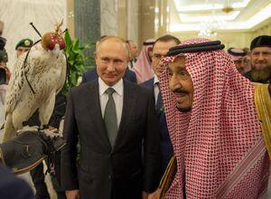 هدیه پوتین به شاه سعودی