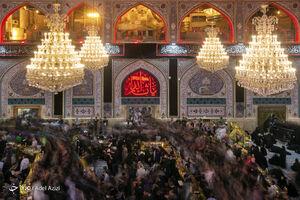 عکس/ حالوهوای حرم امام حسین(ع) در آستانه اربعین