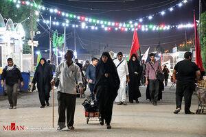 عکس/ شبهای عاشقی در راه حسین(ع)