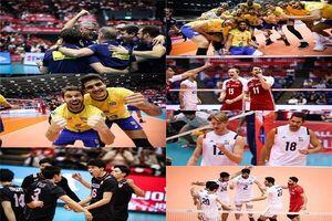 رتبه نهایی ایران در جام جهانی والیبال +نتایج