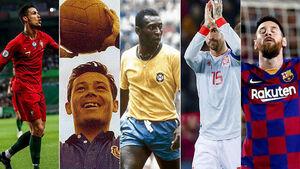 رکوردداران فوتبال جهان
