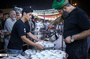 عکس/ خدمترسانی موکبهای ایرانی در نجف اشرف به زائران حسینی