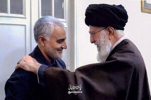 فیلم/ بیانات منتشرنشده رهبرانقلاب درباره سردار سلیمانی