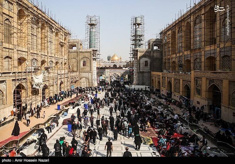 نجف در آستانه اربعین حسینی