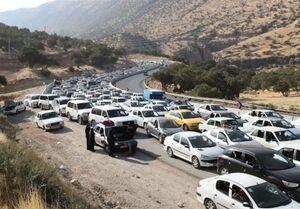 آخرین وضعیت ترافیکی در مرزهای چهارگانه