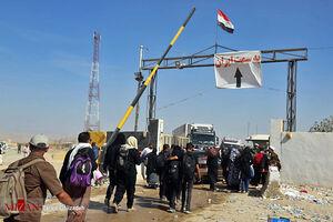 عکس/ بازگشت زائران اربعین حسینی از مرز مهران