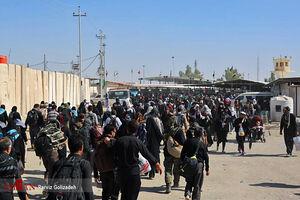 فیلم/ آخرین وضعیت تردد زائران در مرز مهران