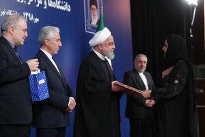 حضور رئیسجمهور در دانشگاه تهران