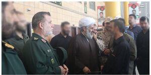 عکس/ رئیسسازمان اطلاعاتسپاه در مرز شلمچه