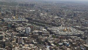 تصاویر هوایی از بین الحرمین