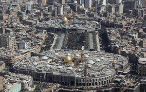 تصاویر هوایی جدید از بین الحرمین