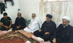 عکس/ حضور تولیت آستان قدس رضوی در موکب عراقی