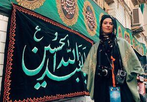 اشکهای عکاس انگلیسی در حرم امام حسین(ع) +عکس و فیلم