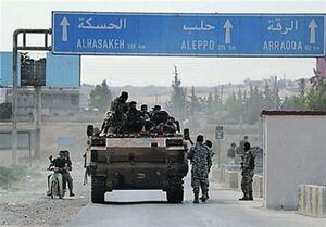 ارتش سوریه وارد عین العرب شدند