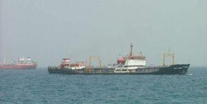 فیلم/ آتش گرفتن یک نفتکش در سواحل شارجه