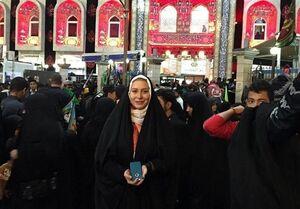 روایت خانم بازیگر از حضور در راهپیمایی بزرگ اربعین