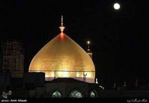 عکس/ هزاران عاشق و عزادار حسینی در نجف اشرف