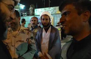 فیلم/ پیام پلیس مستقر در مرز مهران به رهبرانقلاب