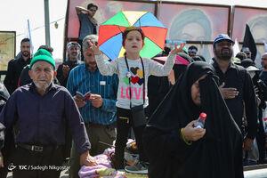 عکس/ لحظه دیدنی اولین سلام زوار حسینی