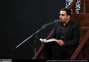 فیلم/ قرائت زیارت اربعین در محضر رهبر انقلاب توسط حنیف طاهری