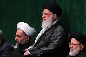 عکس/ مراسم عزاداری اربعین با حضور رهبر انقلاب