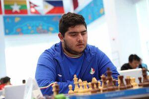 توقف پنجمین سوپر استاد مقابل نماینده شطرنج کشورمان