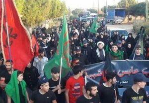 برگزاری مراسم اربعین حسینی (ع) در لبنان +عکس