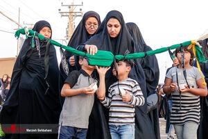 عکس/ بازگشت دلدادگان حسینی از مرز شلمچه