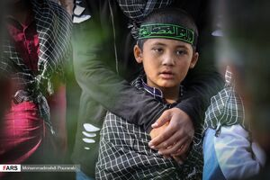 عکس/ راهپیمایی کودکان کار و ایتام البرزی