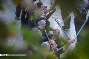 عکس/  رژه حماسی «شاه حسین گویان» در کرج