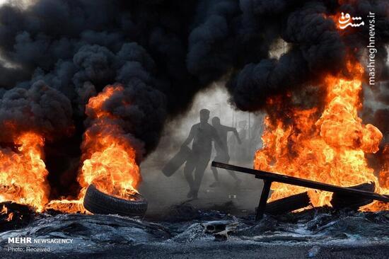 فیلم/ موجسواری مرتجعین در ناآرامیهای لبنان