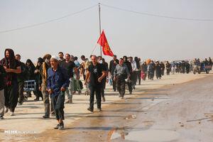 عکس/ موج بازگشت زائران اربعین از مرز مهران