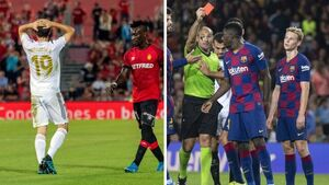 اخراج - بارسلونا و رئال مادرید