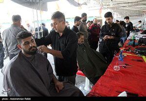عکس/ خدمت رسانی به زائران اربعین در همدان