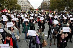 اعتراض به افزایش قتل زنان فرانسوی در خشونتهای خانگی