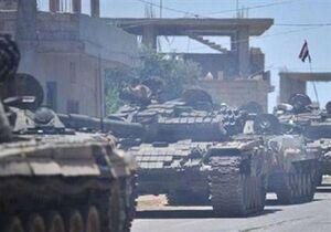 حرکت ۳ تیپ زرهی ارتش سوریه به شرق فرات در حومه الحسکه