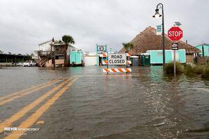 عکس/ آبگرفتگی جادههای فلوریدا