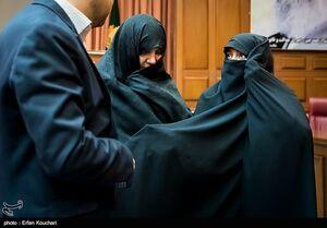 عکس/ چهارمین جلسه دادگاه شبنم نعمتزاده