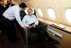 پرواز پر هزینه لاریجانی به بلگراد/ «شوآف» تبلیغاتی که گران تمام شد