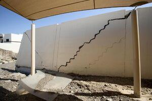عکس/ خسارت طوفان و سیل در شرق امارات