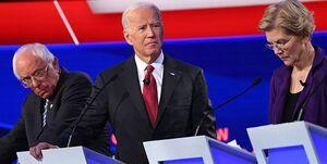اختلاف محبوبیت «جو بایدن» با دیگر رقبای دموکرات، دو رقمی شد