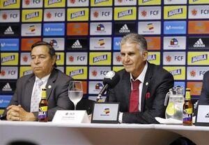 حمله مجدد نایبرئیس فوتبال کلمبیا به کیروش