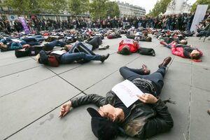 عکس/ خشونت جنسی؛ زنان فرانسوی را به خیابان کشاند