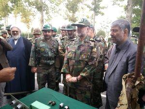 بازدید فرمانده نزاجا از تیپ 216 زرهی