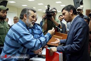 عکس/ پنجمین دادگاه رسیدگی به اتهامات علی دیواندری
