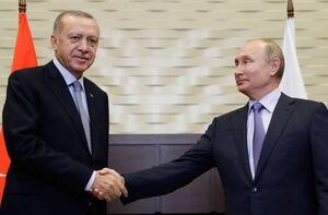دیدار اردوغان با پوتین