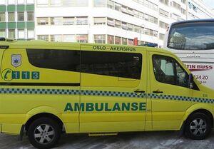 آمبولانس سرقتشده در نروژ چندین نفر را زیر گرفت