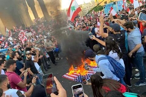 نماهنگ زیبای لبنانی در پاسخ به اعتراضات این کشور