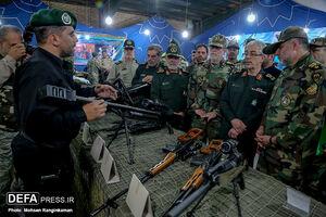 بازدید رئیس ستاد کل نیروهای مسلح از تیپ نوهد
